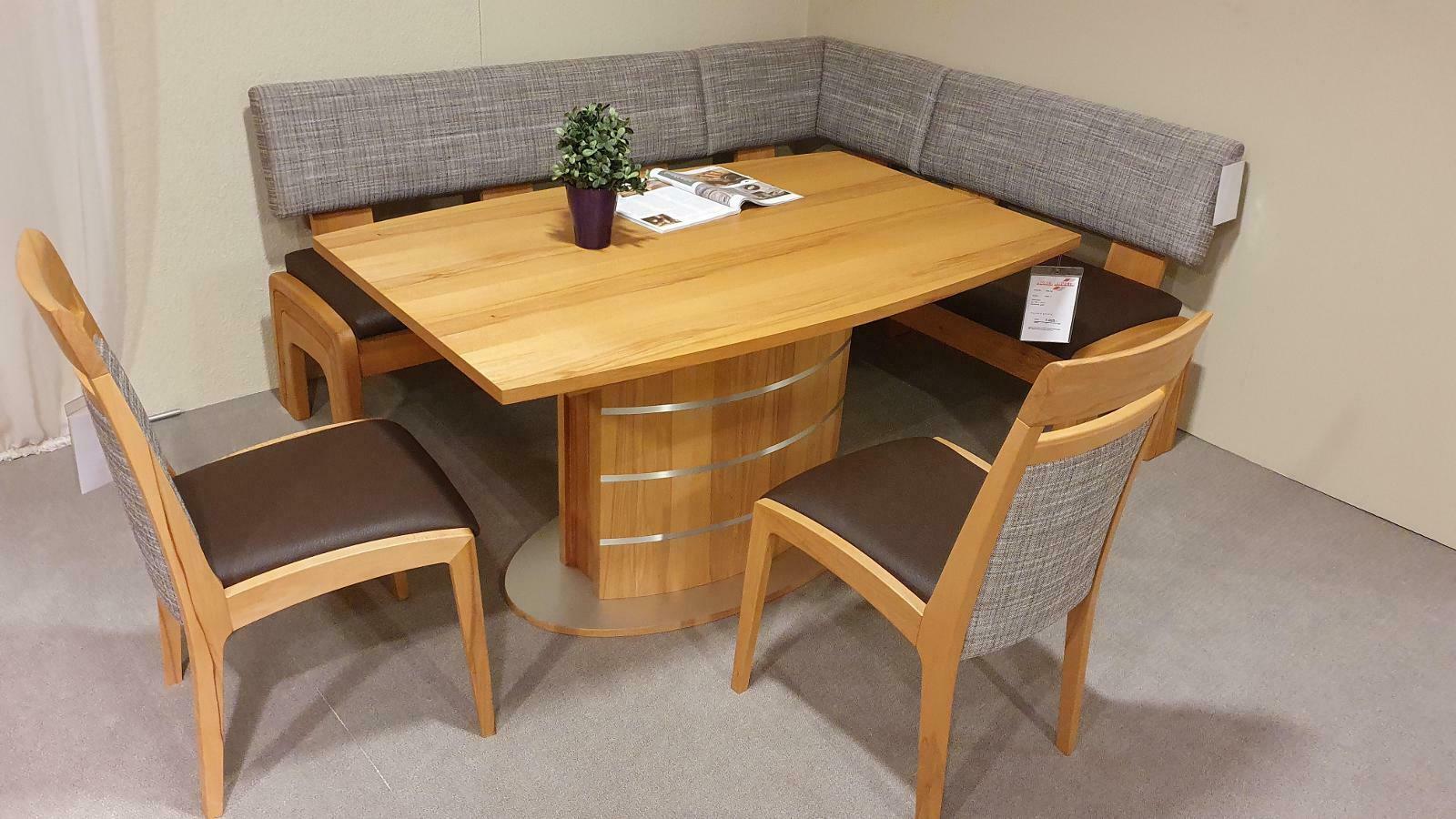 Eckbankgruppe, Tisch & Stühle