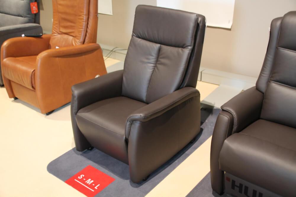 VP 10 - TV-Sessel mit Aufstehhilfe in Echtleder