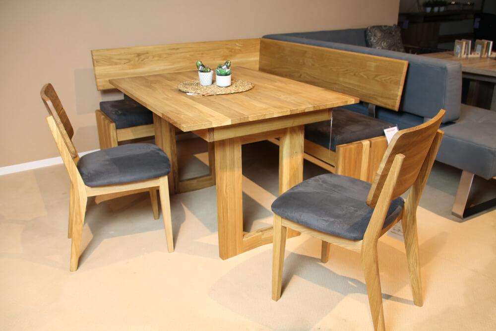 STOCKHOLM  - Eckbankgruppe mit Stühlen und Esstisch