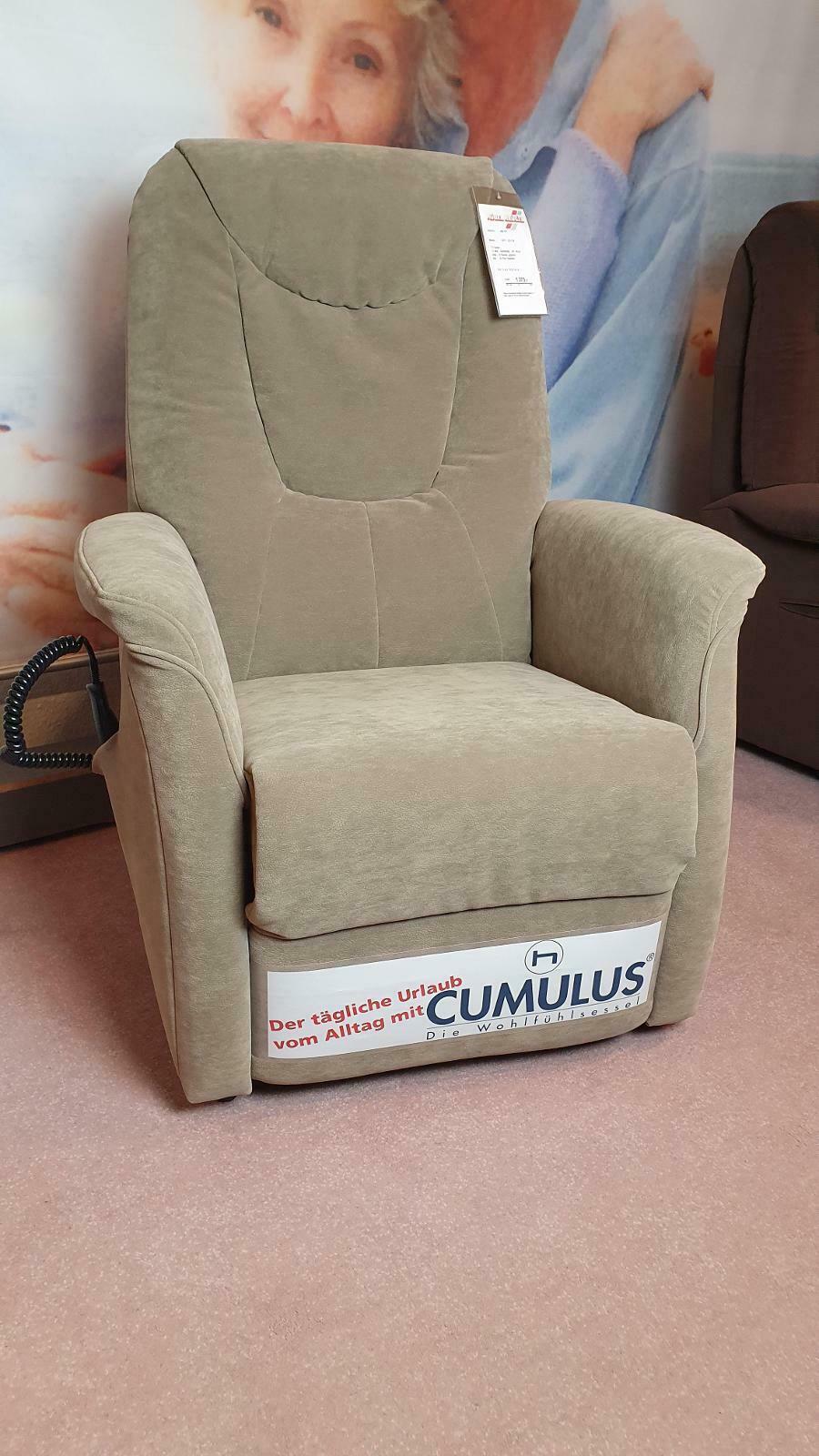 9771 - TV Sessel motorisch in Microfaser Bezug