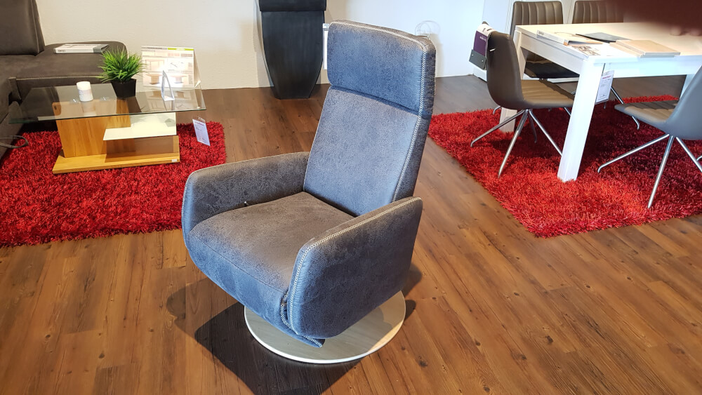 MADISON PLUS 1222 Relaxsessel mit manueller Relaxfunktion