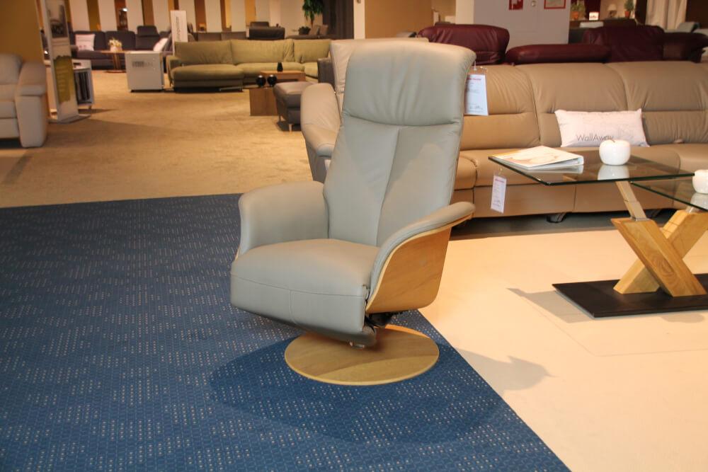 5013 TV Relaxsessel in Leder